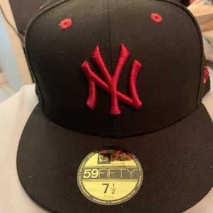 NY Yankees Flat Bill New Era Baseball Cap